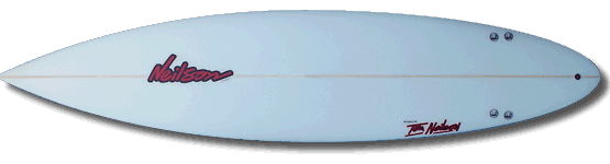 Neilson Surfboards - Featured Surfboard: Mini Gun